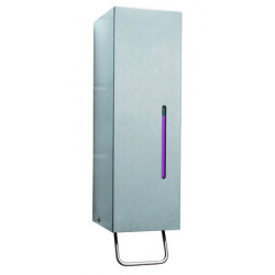 Foam soap dispenser wall mounted stainless steel with lever