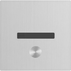 Urinal trigger I-CARO automatic or manual recessed stainless steel