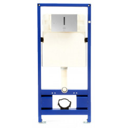 Support frame WC concealed tank I-caro with automatic trigger by infrared detection