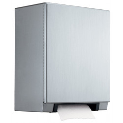 Paper towel dispenser stainless steel with automatic cut-off