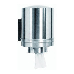 Stainless steel centre feed...