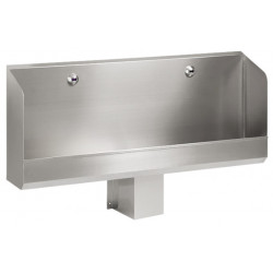Collective urinal wall mounted electronic set off