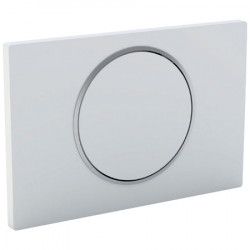 Actuator plate WC white