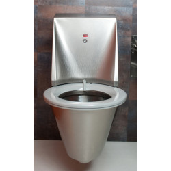 WC wall-hung stainless steel self-cleaning HYGISEAT