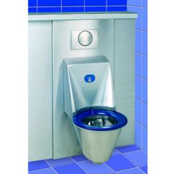 Habillage inox du bâti-réservoir WC suspendu HYGISEAT