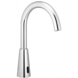 Automatic faucet swan neck AKWAVIVA cold water or pre-mixed