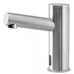 Wash basin faucet stainless steel automatic ELITE for cold or pre-mixed water