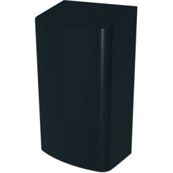 Automatic hand dryer matte black