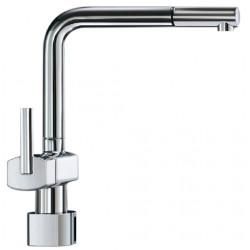 Automatic kitchen faucet with mixing tap PUREA long spout