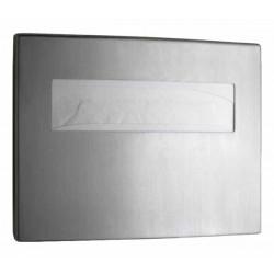 Stainless steel throwaway seat covers