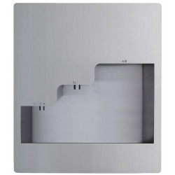 Recessed hand wash anti vandal automatic stainless steel 3in1  soap, water and hand dryer touch free