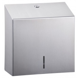 Wall mounted paper dispenser brushed stainless steel ELITE