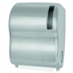Paper towel dispenser in stainless steel in roll autocut