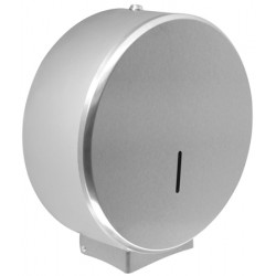 Hygienic paper roll jumbo stainless steel polished or brushed O-MEGA