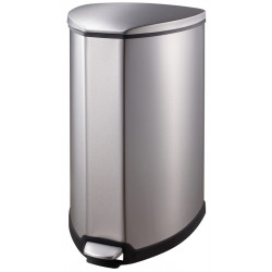 Pedal bin design stainless steel TRIANGLE