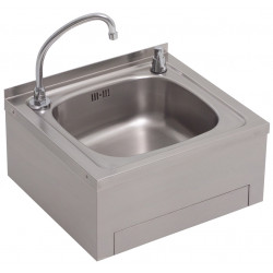 hand wash for professional kitchens stainless steel large tank