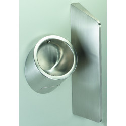 Urinal men stainless steel wall hung URI-ONE