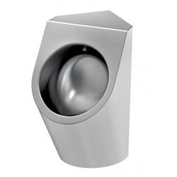Corner urinal stainless steel URBA