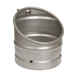 Urinal beer keg design stainless steel with automatic trigger