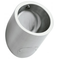 Urinal design stainless steel invisible detection integrated URI-ONE