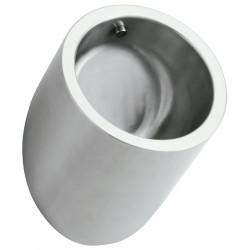 Urinal for men vandal proof stainless steel design cylinder