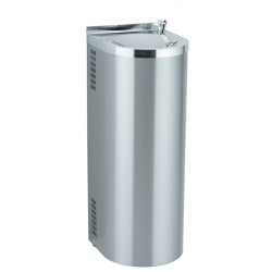 Fresh water fountain refrigerated  stainless steel on foot