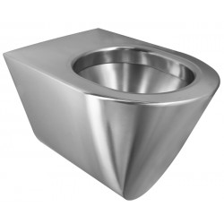 WC wall hung stainless steel vandal proof ULTIMA TC