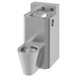 Floor standing WC and sink...