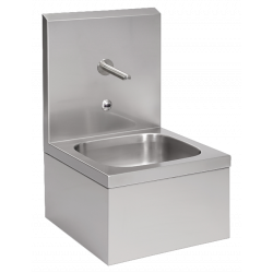 Mural sink automatic stainless steel professional