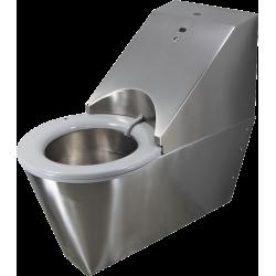 WC autonettoyant suspendu inox HYGISEAT handicapé