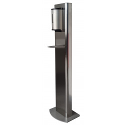 Stainless steel totem for...