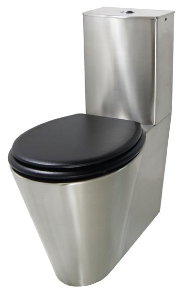 Cuvette WC inox réservoir OPTIMA